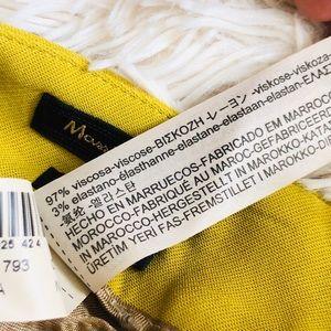 Massimo Dutti Pants & Jumpsuits - NWT Massimo Dutti Yellow/Green Slim Trouser Pants